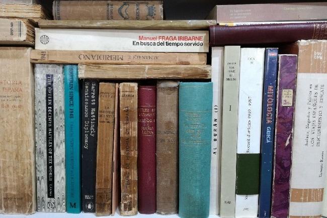 Donar libros usados en Salamanca